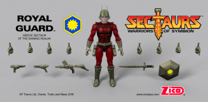 SECTAURS: Warriors of Symbion - serie 1 completa by Zica toys