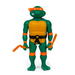 Teenage Mutant Ninja Turtles ReAction figures - serie 1 completa by Super 7