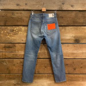 Jeans Uomo Department 5 Prix Blu Chiaro Slavato