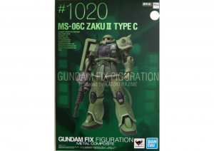 GUNDAM Fix Figuration Metal Composite: ZAKU II Type C MS-06C #1020 by Bandai