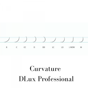 Ciglia per extension M 0,07mm DLux Professional
