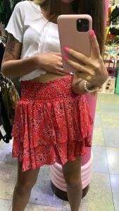 Minigonna Vicolo fantasia bandana