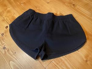 Shorts Denim Nero Vicolo