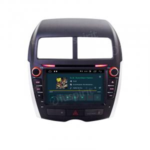 ANDROID 10 autoradio 2 DIN navigatore per Mitsubishi ASX Peugeot 4008 Citroen C4 Aircross GPS DVD USB WI-FI Bluetooth Mirrorlink