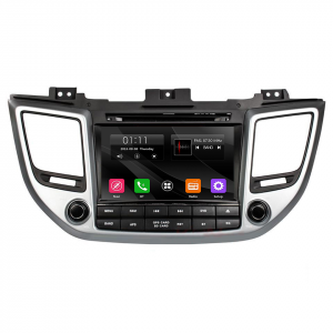 Autoradio 2 DIN navigatore per Hyundai Tucson 2015 2016 2017 GPS DVD USB SD Bluetooth