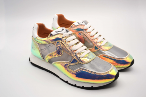 Voile Blanche Scarpa Donna Sneakers Julia Mesh Metallic/Tulle0012013488.02.1M10