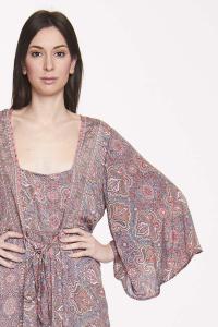 Abito lungo fantasia fino alla taglia 50 | Vestiti donna online boho chic