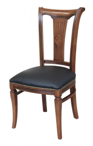 Stuhl mit Stoffbezug im Stil aus Buchneholz Asseoir-53