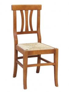 Chaise assise en paille