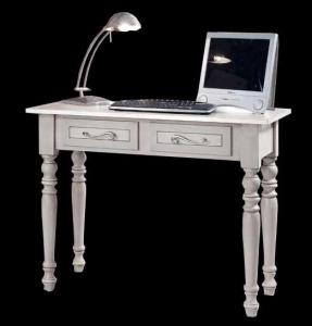 Schreibtisch grau mit Schubladen Usage