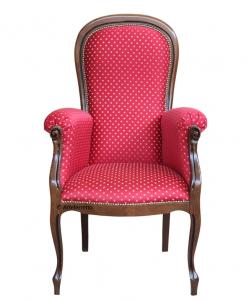 Fauteuil Voltaire Plus assise haute