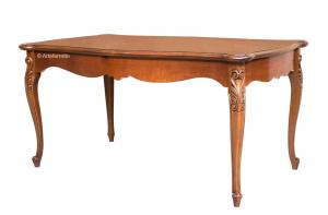Table à manger rectangulaire à rallonge 166-246 cm