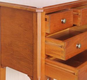 Table pour téléphone avec tiroirs
