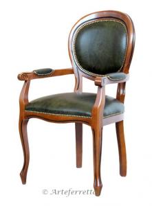 Chaise bout de table Louis Philippe