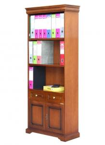 Bücherregal 2 Türen Louis Philippe