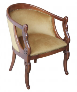 Kleiner Sessel Schwan Klassik