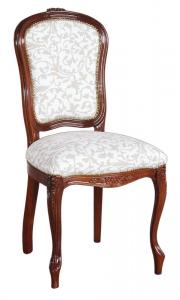 Eleganter Stuhl mit Polsterung