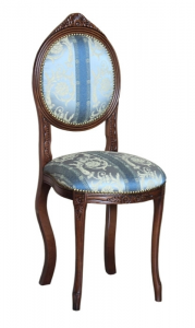 Kleiner Stuhl Ovalina Schlafzimmer