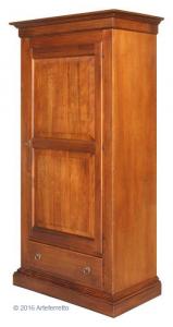 Garderobeschrank 1 Tür 1 Schublade