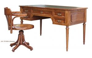 Schreibtisch Lederplatte Louis XVI
