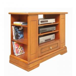 TV-Rack aus Holz mit Schubladen