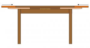 Table à manger extensible 160-240 cm