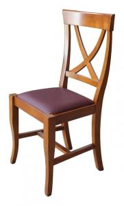 Stuhl mit Sitzpolster jeden Tag