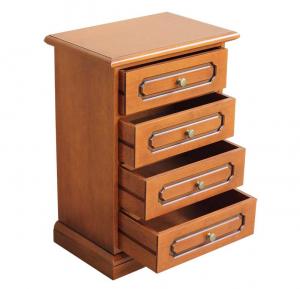 Petit chiffonnier table de chevet 4 tiroirs