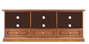 Lowboard niedrig 3 Schubladen 3 Fächer