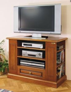 Meuble TV rayonnage latéral