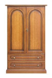 Armoire 2 portes 2 tiroirs
