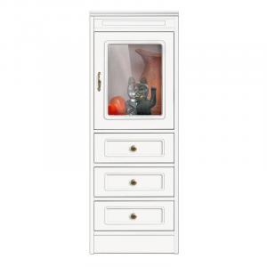 Collection Compos - Meuble vitrine 3 tiroirs