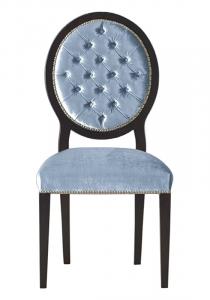 Stuhl mit Knöpfen gepolstert Deluxe