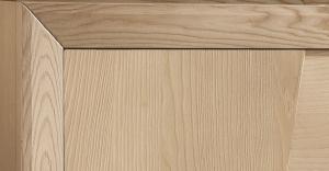 Sideboard modern Eschenholz 4 Türen