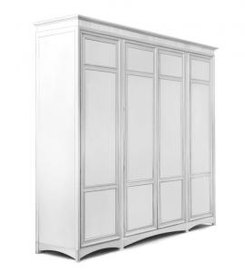 Armoire pour chambre 4 portes en bois Superior