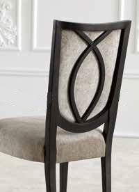 Stuhl modernes Design gepolstert Trendy