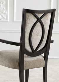 Chaise bout de table design Trendy