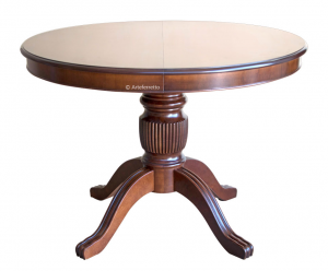 Table à manger Stub ronde prolongeable 120 cm diamètre