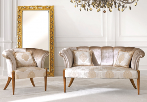 Muschelförmiges Sofa Icona
