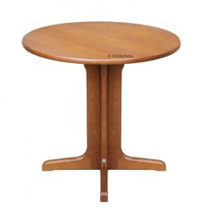 Table ronde 80 cm en hêtre massif