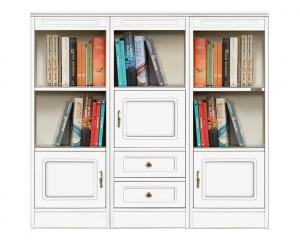 Anbauwand Bücherregal aus Holz - Kollektion Compos