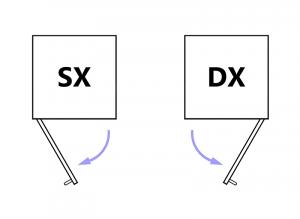 Möbel 3 Schubfächer 1 Tür - Kollektion Compos