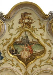 Trumeau-Möbel Gold Venice