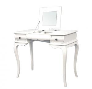 Schreibtisch mit Klappe und Spiegel