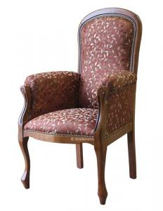 Sessel Voltaire mit erhobenen Sitz