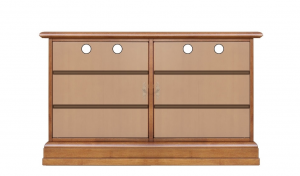 Garderobe-Set mit kleinen Schuhschrank
