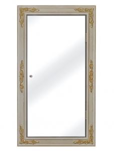 Miroir d'angle avec rangement