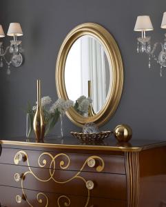 Ovaler Spiegel 88 x 68 cm Ipnos