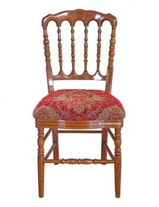 Stuhl mit Stoffsitz  Bistrot