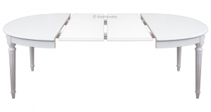 Table ovale extensible Style Louis XVI